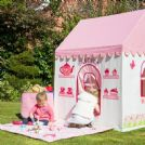 Personalised Fabric Playhouse Country Cottage and Tea Room